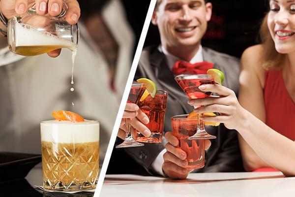 Cocktailkurs Firmenfeier Weihnachtsfeier